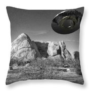 Disc Over Indian Cove Throw Pillow