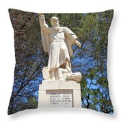 Discalced Carmelite Order  Throw Pillow