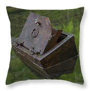 Discarded Treasure Throw Pillow
