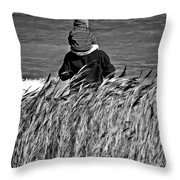 Discovery Bw Throw Pillow