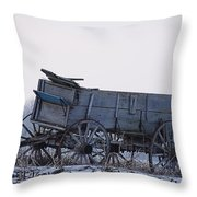 Discovery From The Past Throw Pillow
