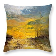 Discovery II Throw Pillow