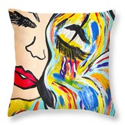 Discovery Of Excellence Throw Pillow