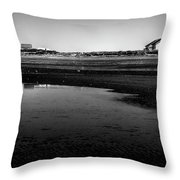 Discovery Park Beach Throw Pillow