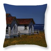Discovery Park Homes Throw Pillow