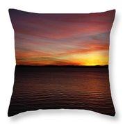 Discovery Park Sunset 6 Throw Pillow