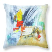 Discovery Three Throw Pillow