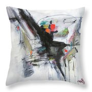 Discovery Two Throw Pillow