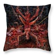Discretion Of The Impure Throw Pillow