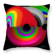Discus Throw Pillow