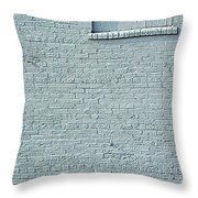 Discussion Of The Grey Wall Throw Pillow