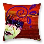 Disdain Throw Pillow