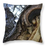 Disfigured By Nature Throw Pillow