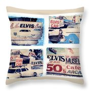 Disgraceland Throw Pillow by Jane Linders