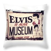 Disgraceland No. 2 Throw Pillow