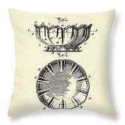 Dish-1900 Throw Pillow