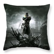 Dishonored Throw Pillow