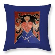 Dismembered Woman Throw Pillow