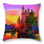 Disney Fantasy Art Throw Pillow