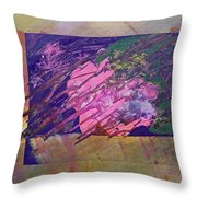 Disolving Psycho Throw Pillow