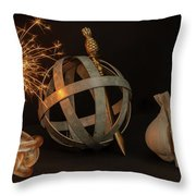 Disparate Objects 2 A Still Life Throw Pillow