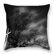 Disquiet Throw Pillow