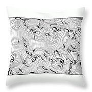 Disruption Throw Pillow