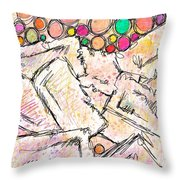 Dissociative Throw Pillow