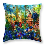 Dissolution And Rebirth Throw Pillow