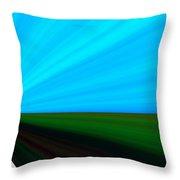 Distand Light II Throw Pillow