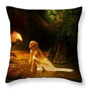 Distant Horizon Throw Pillow