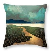 Distant Land Throw Pillow