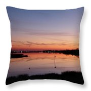 Distant Lights Throw Pillow
