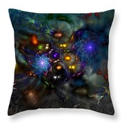 Distant Realms Of The Imagination Throw Pillow