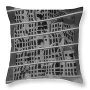 Distorted Views Throw Pillow