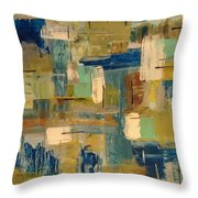 Distortion Throw Pillow by Sonya Wilson