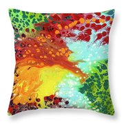 District Tribute Throw Pillow