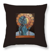 Diva Plavalaguna Throw Pillow