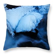 Dive In To Life Throw Pillow