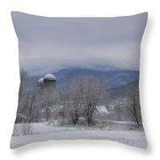 Divergent Spring Throw Pillow
