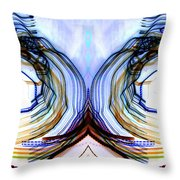 Divide And Conquer Throw Pillow