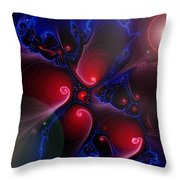 Divided Day Throw Pillow