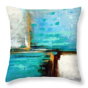 Divided Loyalties Throw Pillow
