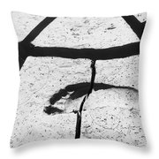 Divided Stand Throw Pillow