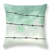 Dividers Throw Pillow
