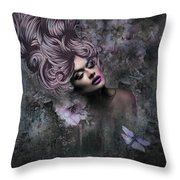 Divine Beauty Throw Pillow