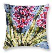 Divine Blooms-21057 Throw Pillow
