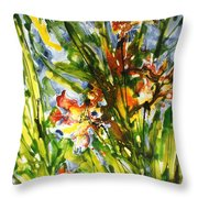 Divine Blooms-21061 Throw Pillow