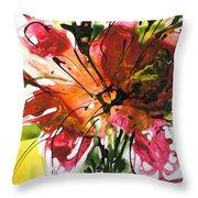 Divine Blooms-21082 Throw Pillow