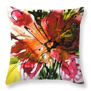 Divine Blooms-21082 Throw Pillow